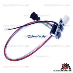 Блок регулирования скорости вентилятора отопителя ГАЗ-31105, 3302 Бизнес н.о.