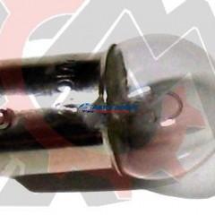 Лампа 12V-10W (средняя)с цоколем габариты