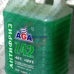 """Жидкость охлаждающая """"Антифриз"""" AGA Z-42 зеленый (-42) 5 л G48"""