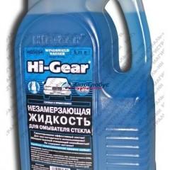 Жидкость стеклоомывающая зимняя Hi-Gear (до -25, без метанола, аромат персика) 5,25л