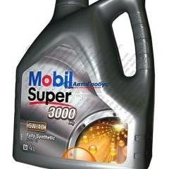 Масло Mobil моторное 5W40 Super 3000 X1 4 л (синтетика)