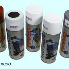 Автогрунтовка универсальная KUDO акриловая (серая) 520 мл