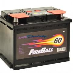 Аккумулятор 60 а.ч. FIRE BALL (о/п)