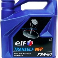 Масло ELF трансмиссионное 75W80 Tranself NFJ GL-4+,5 5л. КПП (полусинтетика)