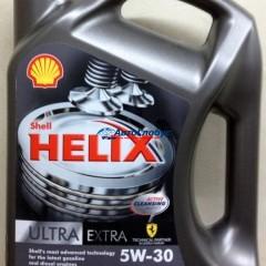 Масло Shell моторное 5W30 Helix ultra extra 4л.син