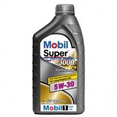 Масло Mobil моторное 5W30 Super3000 F-FE 1л (синтетика)
