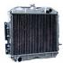 Радиатор охлаждения ВАЗ-2190, Калина-2, Datsun On-Do, Mi-Do (2-рядный) (АКПП) (LADA)