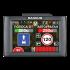 Видеорегистратор с радар-детектором Intego Magnum (сенсорный экран,голосовое оповещение, модуль GPS)