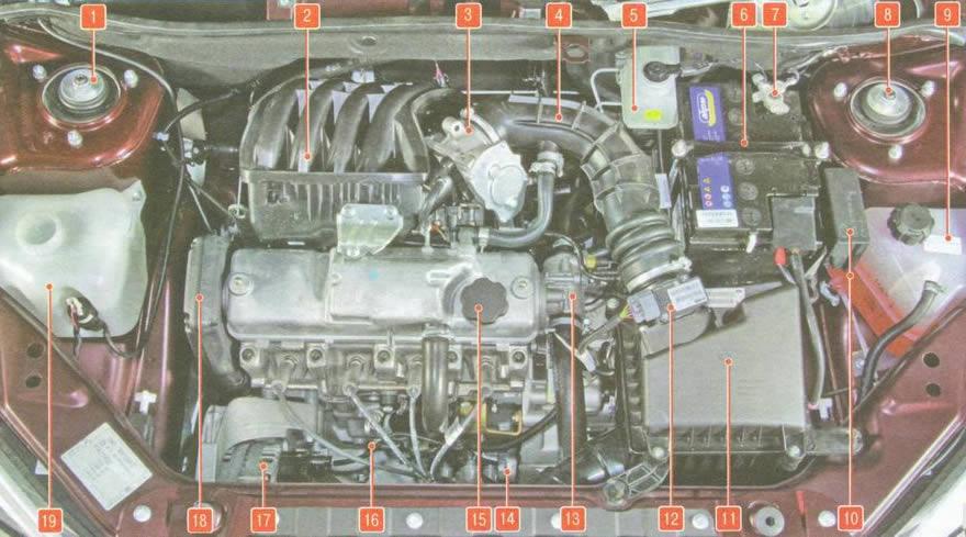 Двигатель 21116 (87 лс) - клапана гнёт!