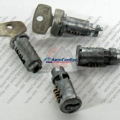Личинка замка ВАЗ-2101 двери и багажника (к-т 3шт.) (ДААЗ)