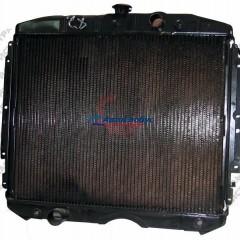 Радиатор охлаждения ГАЗ-3309 ММЗ-245 Евро-3 (2-х рядн. медный) (с горловиной/под большой датчик)