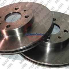 Диск тормозной ВАЗ-2108-15 (к-т. 2шт.) вентилируемые (ALNAS)